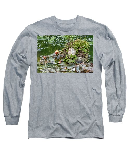 Long Sleeve T-Shirt featuring the photograph Rock Face Revisited by Kate Brown