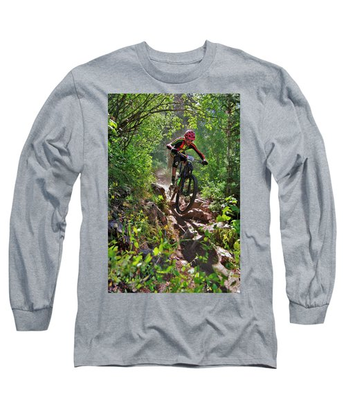 Rock Hopping #30 Long Sleeve T-Shirt by Matt Helm