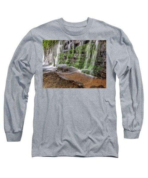 Rock Wall Waterfall Long Sleeve T-Shirt