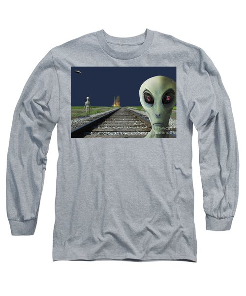 Rocket Launch Long Sleeve T-Shirt