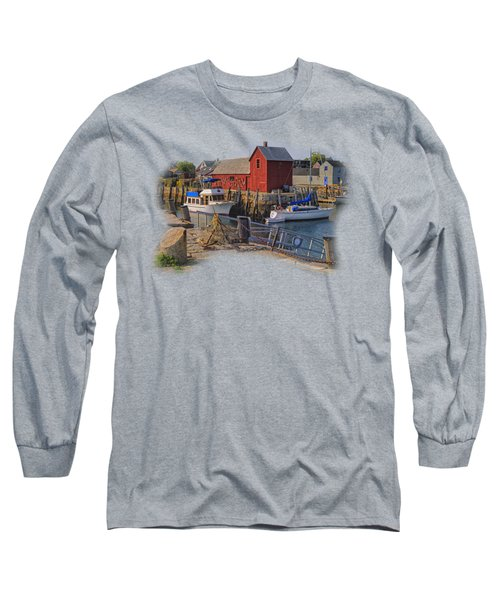 Rockport Waterfront Long Sleeve T-Shirt
