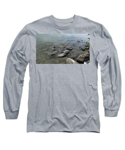 Rocks And Water Too Long Sleeve T-Shirt
