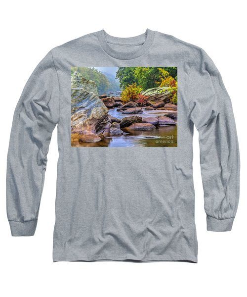 Rockscape Long Sleeve T-Shirt by Tom Cameron