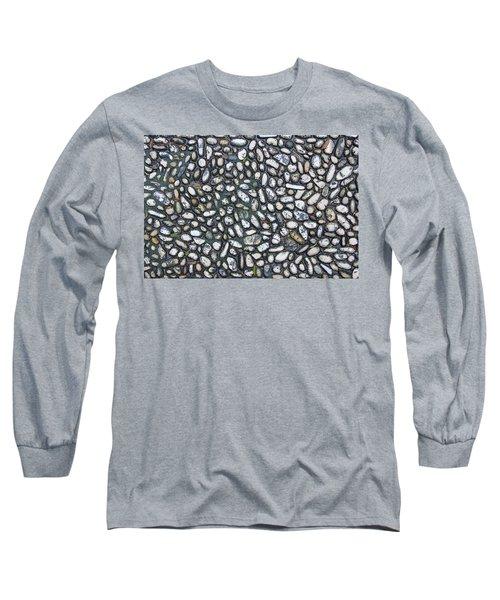 Rocky Beach 2 Long Sleeve T-Shirt by Nicola Nobile