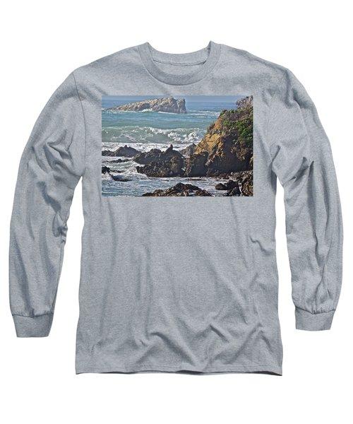 Rocky Coast Long Sleeve T-Shirt