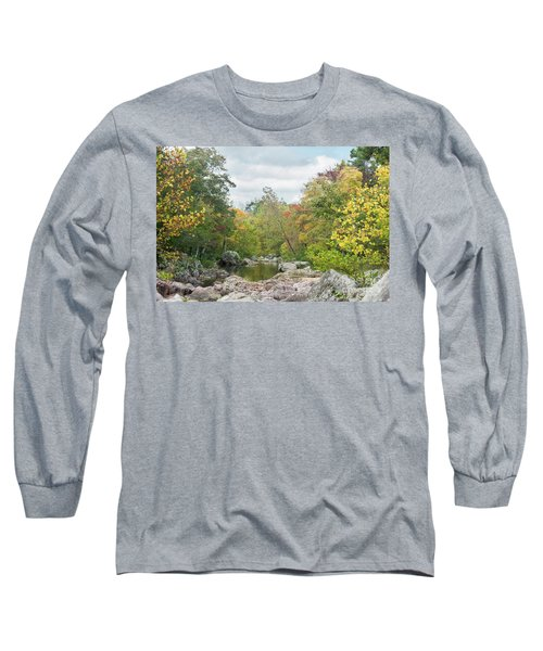 Long Sleeve T-Shirt featuring the photograph Rocky Creek Shut-ins by Julie Clements
