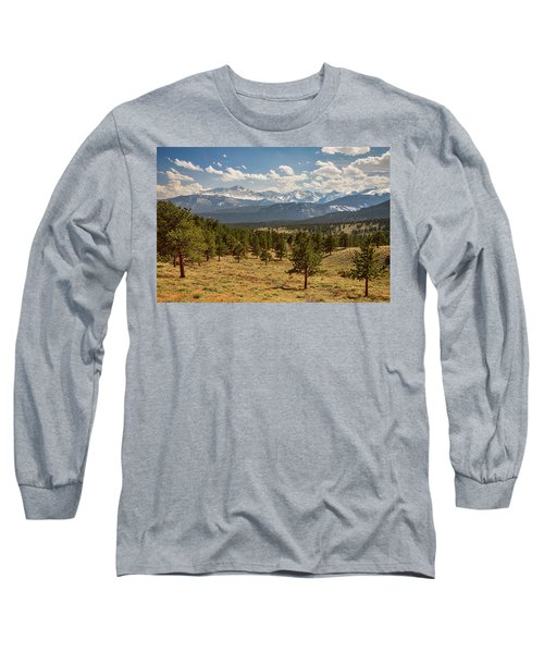 Long Sleeve T-Shirt featuring the photograph Rocky Mountain Afternoon High by James BO Insogna