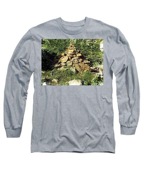 Rocky Mountain Cairn Long Sleeve T-Shirt