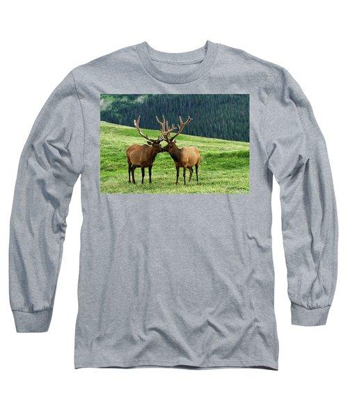 Rocky Mountain Elk 2 Long Sleeve T-Shirt