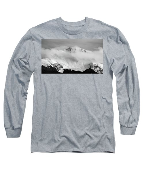 Rocky Mountain Snowy Peak Long Sleeve T-Shirt