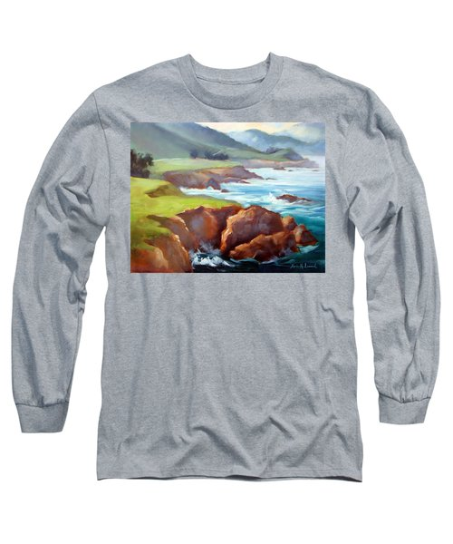 Rocky Point Afternoon Big Sur Long Sleeve T-Shirt