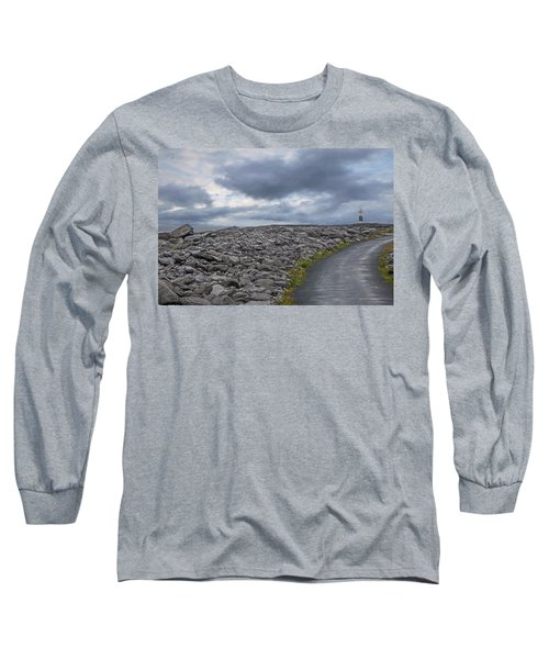Rocky Road To The Lighthouse Long Sleeve T-Shirt