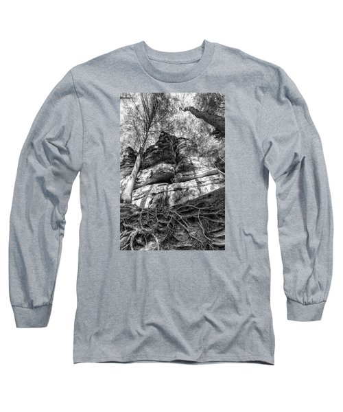 Rocky Roots Long Sleeve T-Shirt by Alan Raasch