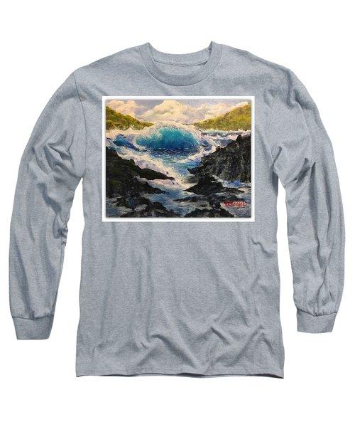 Rocky Sea Long Sleeve T-Shirt