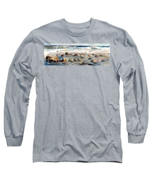 Rocky Seashore Long Sleeve T-Shirt
