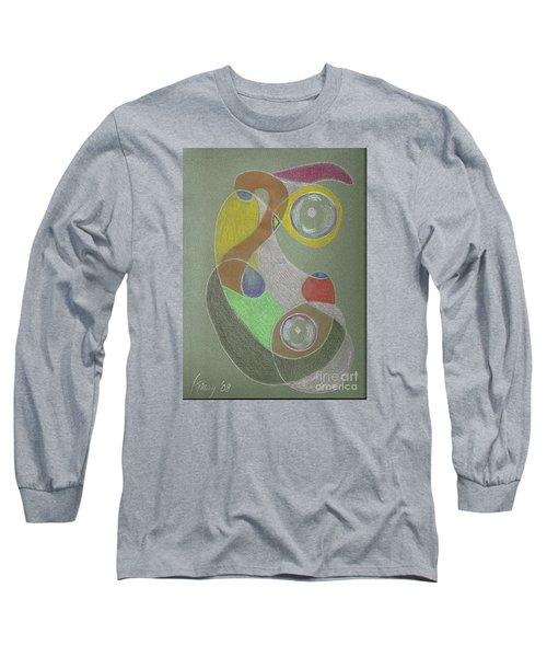 Roley Poley Vertical Long Sleeve T-Shirt
