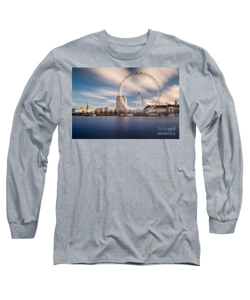 Rolling Long Sleeve T-Shirt by Giuseppe Torre
