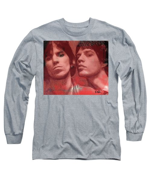 Rolling Stones S Keith N Mick  Long Sleeve T-Shirt