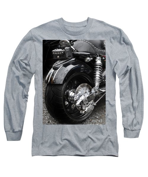Rolling Thunder Long Sleeve T-Shirt by Diane E Berry