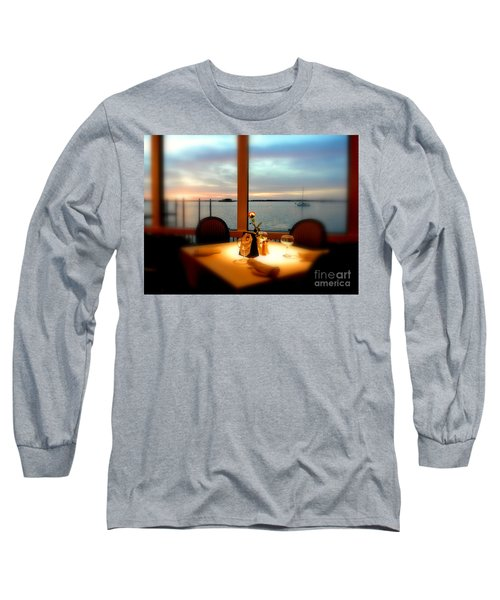 Long Sleeve T-Shirt featuring the photograph Romance by Elfriede Fulda