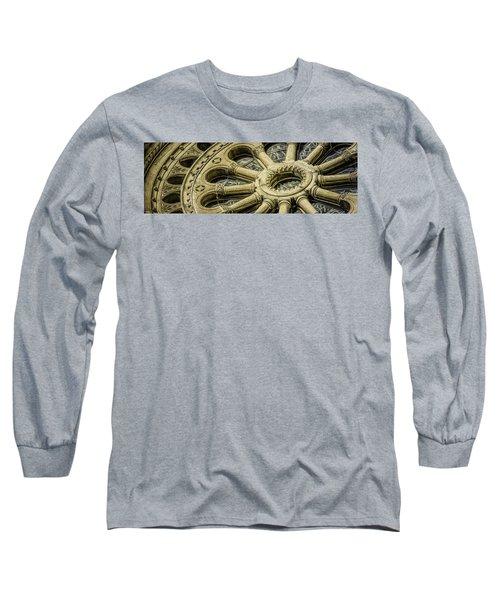 Romanesque Wheel Long Sleeve T-Shirt