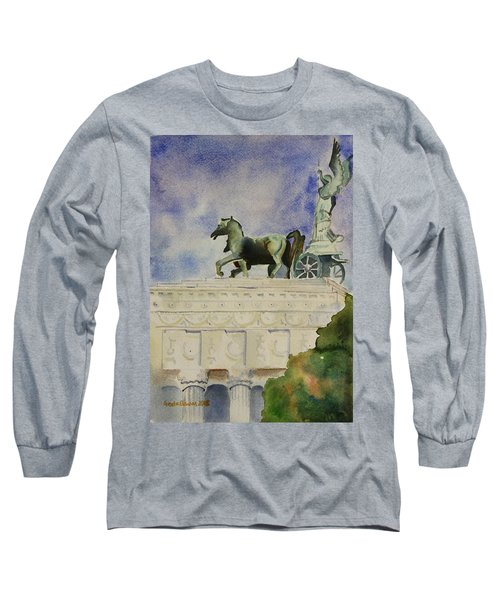 Rome Souvenir Long Sleeve T-Shirt by Geeta Biswas