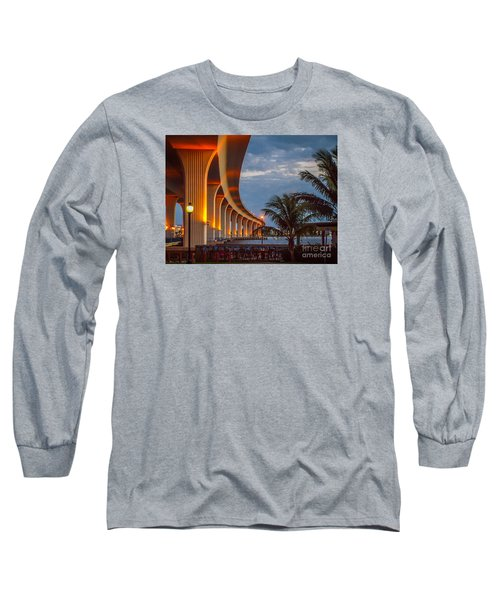 Roosevelt At First Light Long Sleeve T-Shirt by Tom Claud