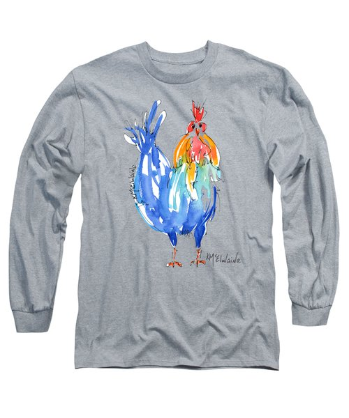 Rooster Stance Long Sleeve T-Shirt