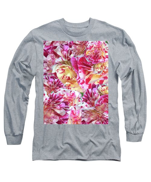 Rose Collage Long Sleeve T-Shirt