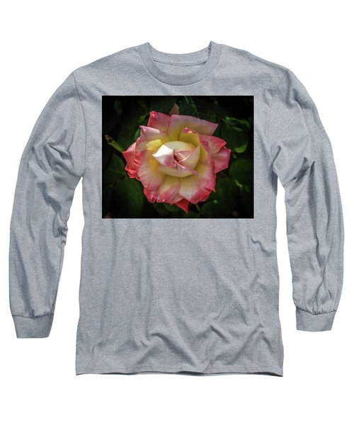 Rose From Mable Ringling's Garden Long Sleeve T-Shirt