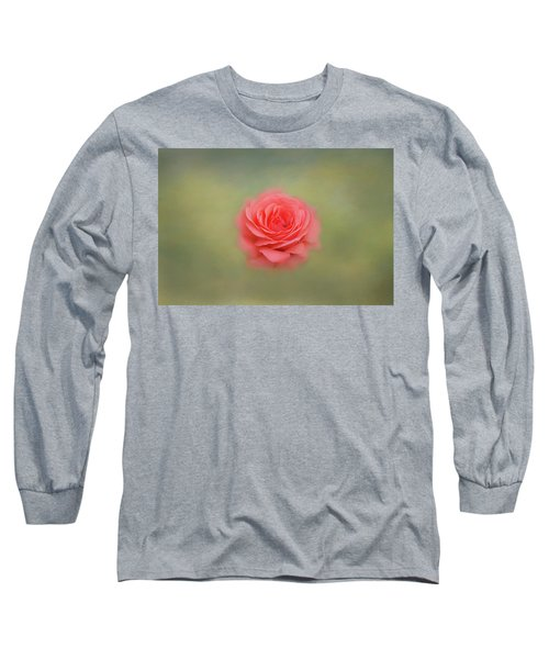 Long Sleeve T-Shirt featuring the photograph Rose Impressions by Kim Hojnacki