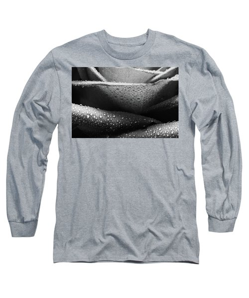 Rose Of Lines And Rain Long Sleeve T-Shirt