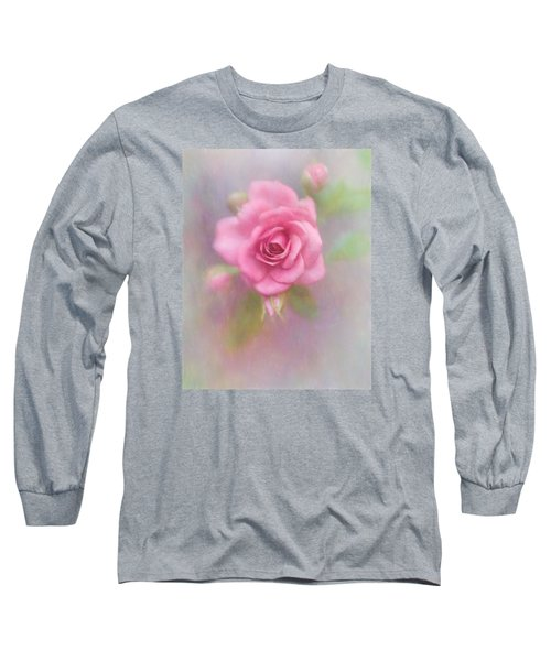 Rose Of Pink Long Sleeve T-Shirt