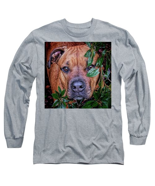 Long Sleeve T-Shirt featuring the photograph Rosebud by Lewis Mann