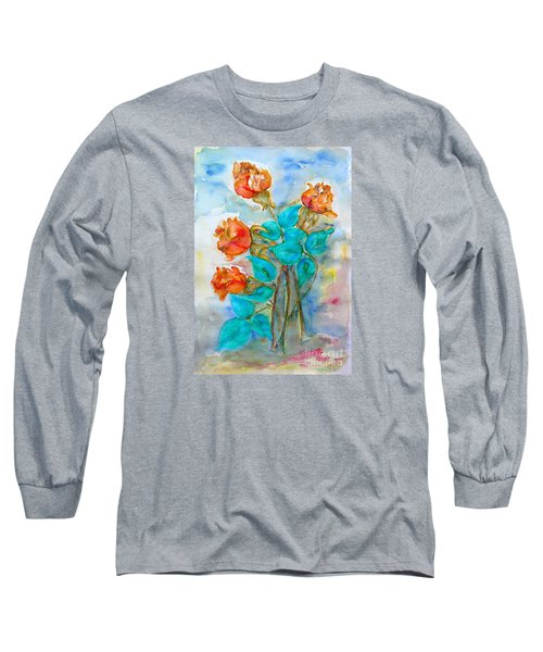Roses Buds Long Sleeve T-Shirt