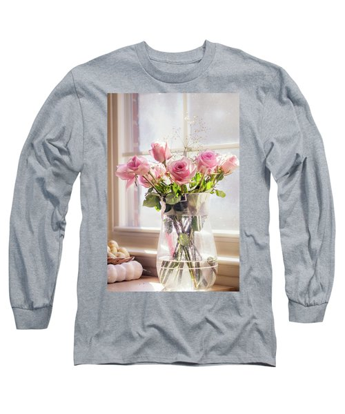 Roses In The Kitchen Long Sleeve T-Shirt