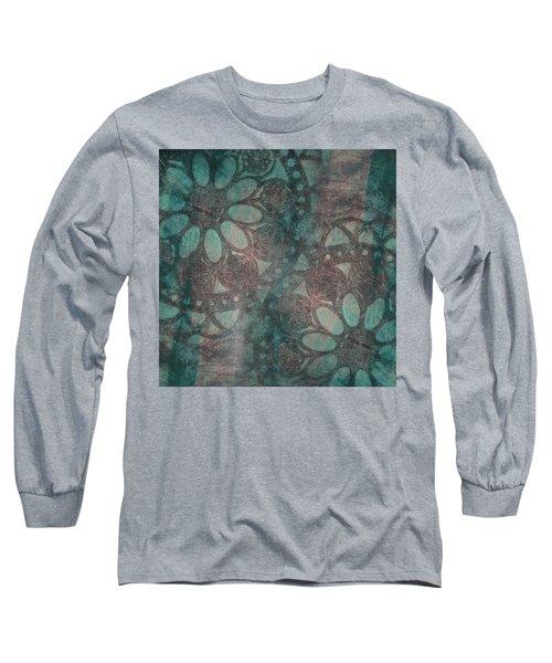 Rosette Stamps Long Sleeve T-Shirt