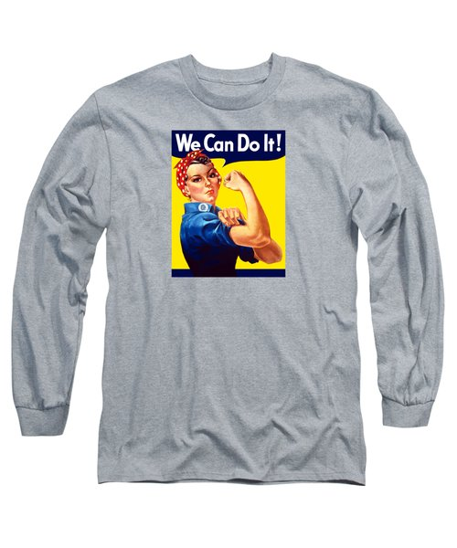 Rosie The Rivetor Long Sleeve T-Shirt by War Is Hell Store