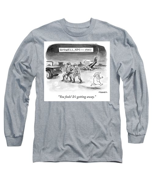 Roswell Nm 1947 Long Sleeve T-Shirt