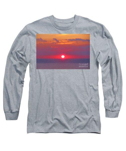 Rosy Sunrise Long Sleeve T-Shirt