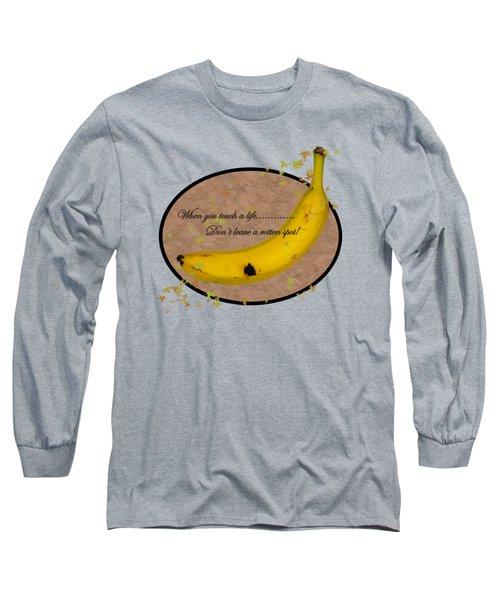 Rotten Spot Long Sleeve T-Shirt by Phyllis Denton
