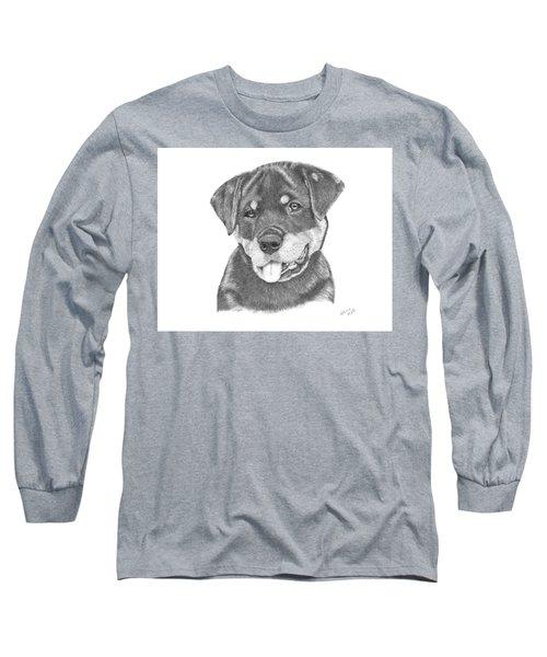Rottweiler Puppy- Chloe Long Sleeve T-Shirt