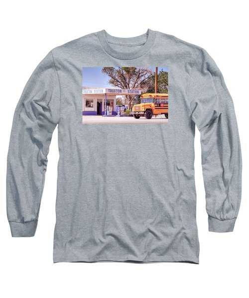 Long Sleeve T-Shirt featuring the photograph Route 66 Impression by Juergen Klust