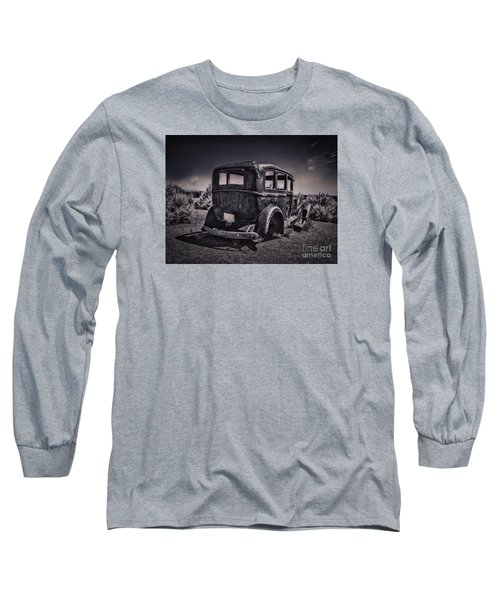 Route 66 Remembered  ... Long Sleeve T-Shirt by Chuck Caramella