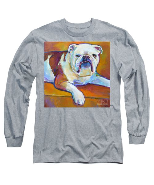 Long Sleeve T-Shirt featuring the painting Roxi by Robert Phelps