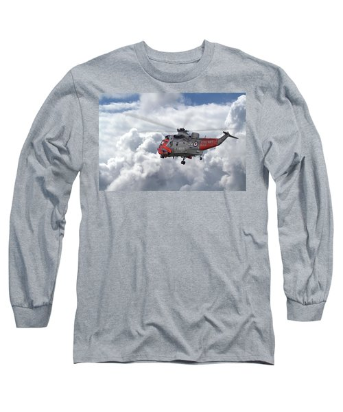Long Sleeve T-Shirt featuring the photograph Royal Navy - Sea King by Pat Speirs