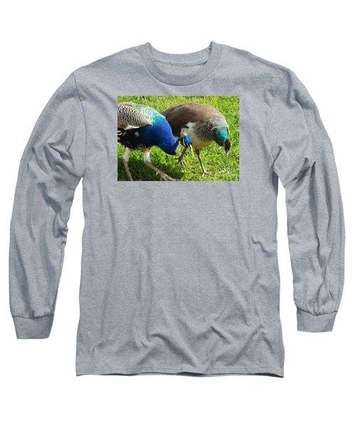Royal Walk-about Long Sleeve T-Shirt