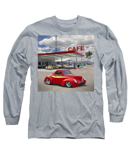 Roy's Gas Station - Route 66 2 Long Sleeve T-Shirt