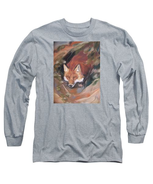 Rudy Adult Long Sleeve T-Shirt by Marika Evanson