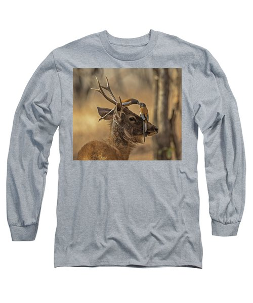 Rufous Treepies Long Sleeve T-Shirt